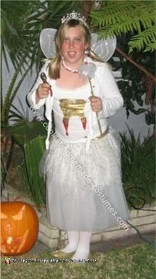 Homemade Evil Tooth Fairy Costume