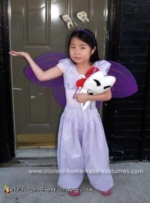 Homemade Evil Tooth Fairy DIY Costume