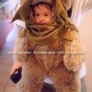 Homemade Ewok Baby Carrier