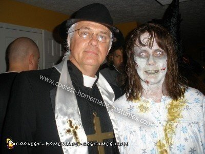 Exorcist Costume and Priest