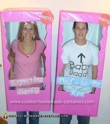 Expecting Barbie and Daddy-to-Be Ken Costume