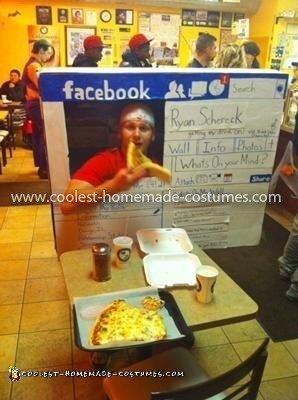 Homemade Facebook Halloween Costume