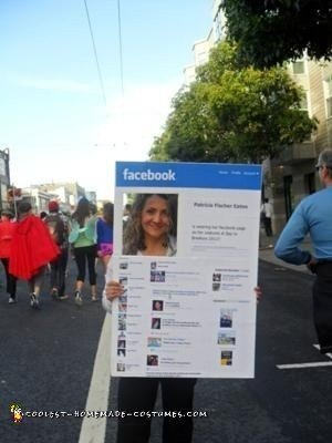 Coolest Facebook Page Costume