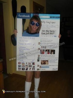 Facebook Page Costume