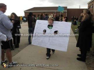 Coolest FAILED Spelling Test Costume -  in the Halloween parade