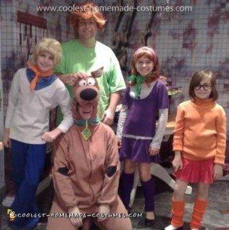 Homemade Family Scooby Doo Costume