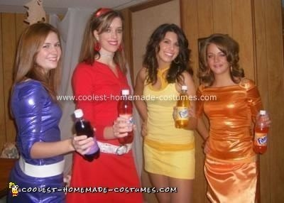Homemade Fantanas Costumes