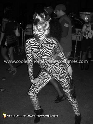 Coolest Female Zebra Costume 10