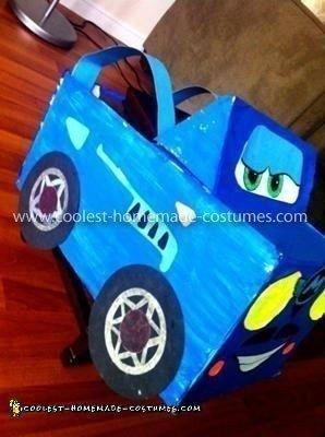 Homemade Finn Mcmissile from Cars 2 Costume