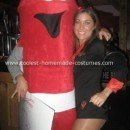 Homemade Fire Extinguisher Costume - I Put Out...