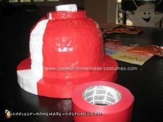Homemade Fire Hydrant Costume