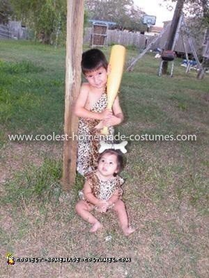 Homemade Flintstone Costume