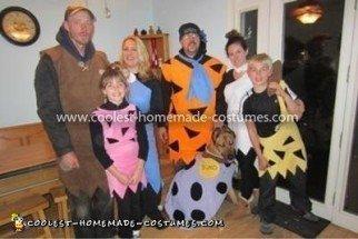 Coolest Flintstones Family Costume 56