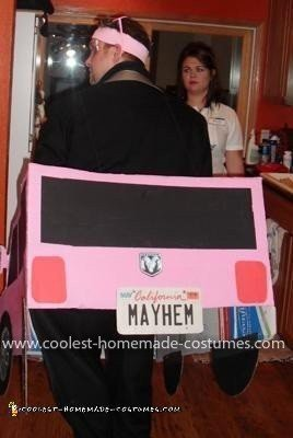 Homemade Flo and Mayhem Couple Costume
