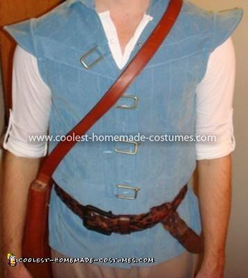 Coolest Flynn Rider from Tangled Costume - Closeup of the vest design