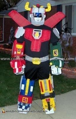 Coolest Foam Voltron Costume