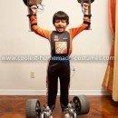 Homemade Formula One Transfomer Costume