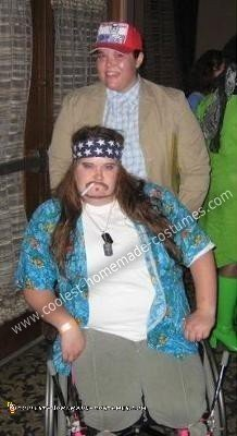 Forrest Gump and Lt. Dan Couple Costume