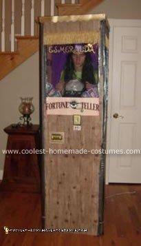 Homemade Fortune Teller Halloween Costume