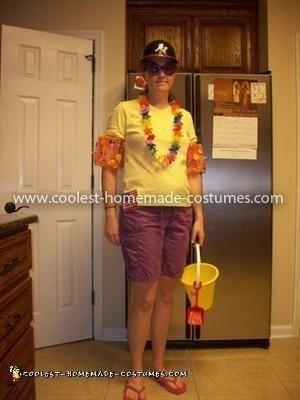 Homemade Four Seasons Costume
