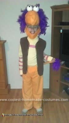 Homemade Fraggle Rock Costume