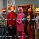 Homemade Fraggle Rock Group Costume
