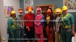 Homemade Fraggle Rock Group Costume