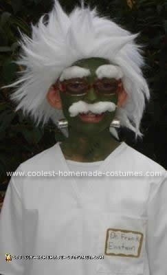 Homemade Frank Einstein Costume