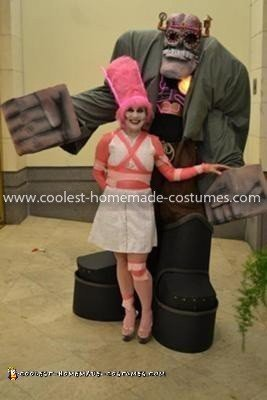 Homemade Frankenberry Costume