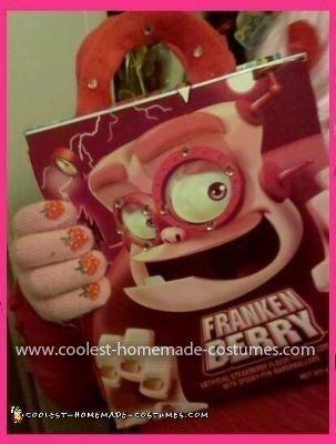 Coolest Frankenberry Costume Designer Bag