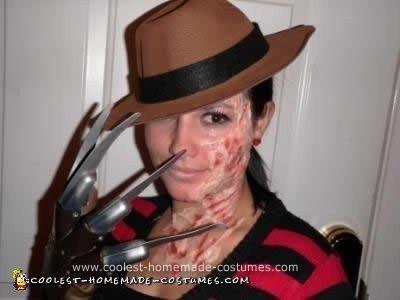 Homemade Freddy DIY Halloween Costume