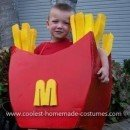 Homemade French Fry Costume