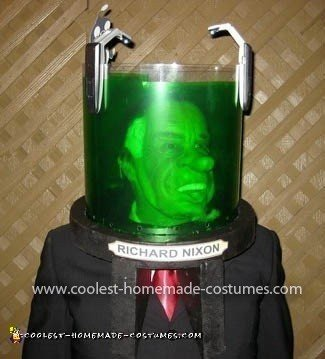 Coolest Futurama President Nixon's Head in a Jar Costume 12