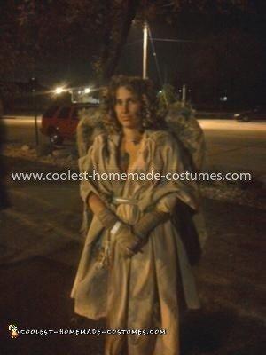 Coolest Garden Cemetery Stone Angel Costume 6