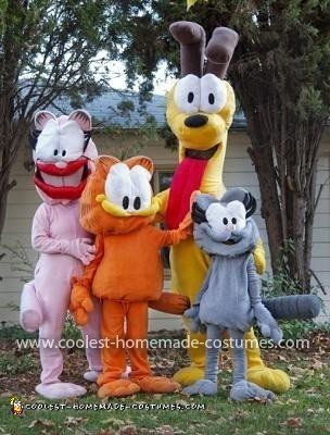 Coolest Garfield and Friends Costumes