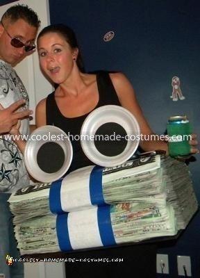 Homemade Geico Money Costume