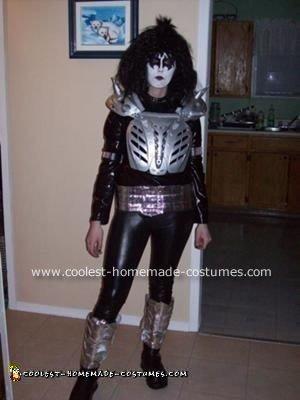 Me as Gene Simmons (Halloween 2008)