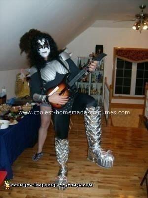 Homemade Gene Simmons of KISS Costume