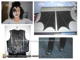 Homemade Gene Simmons the Demon Costume