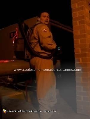 Homemade Ghostbuster Costume