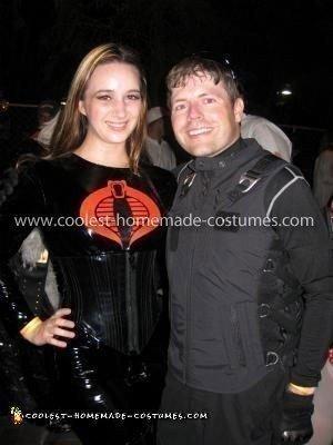 Homemade G.I. Joe and Baroness Couple Costume