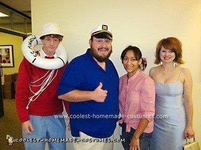 Homemade Gilligan's Island Group Costume