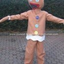 Homemade Gingerbread Man Costume
