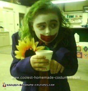 The Girl Joker Halloween Costume