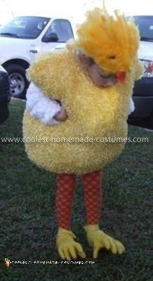 Homemade Girl's Chickadee Costume
