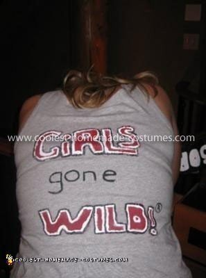 Homemade Girls Gone Wild Costume