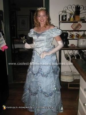 Homemade Glinda the Good Witch of Oz Costume