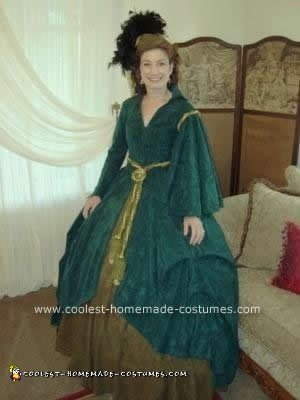 Homemade Gone With The Wind Costume