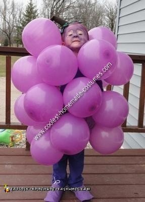 Grapes DIY Halloween Costume Idea