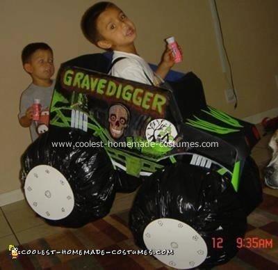 GraveDigger Monster Truck Costume